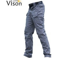 Outdoor Cargo Tactical Pants Men IX9 Special Forces Army training pant waterproof trouser