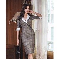 Pretty steps OEM Service Women Pencil Casual Career Wear Business Dress