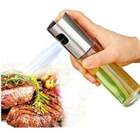 White olive oil fine plastic mist spray bottle dispenser for BBQ,cooking, frying,salad, baking