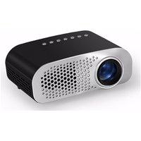 Hot Cheapest 120 Lumens Mini LED Portable Projector GP07S, HDML ,USB,SD,ATV Optional 480x320 Pixel