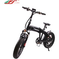 Fashion 500w 750w foldable mountain electric bicycle with 48v 14ah lithium battery