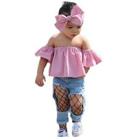 Baby Cloth Girl Set Girls Boutique Child Outfit Summer Fashion 2019 New Wholesale Cheap Kid Clothing