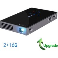 AUN Smart Projector D5S (2+16G) Android 7.1 WIFI, Bluetooth, Home Theater Mini Projector