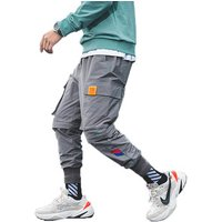 2019 autumn new design hip-hop trousers mens cargo pants with many pockets for miners ready in stock custom logo