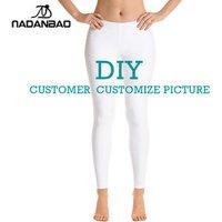 Nadanbao brand Wholesale Ladies Custom Printed Leggings 3d Printed OEM ODM Tights Leggings For Women DROPSHIP DIY One piece MOQ