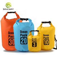 'Ningbo Factory Polyester Pvc 500d 5l Floating Waterproof Dry Bag For Outdoor Camping
