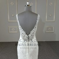 Newest  Lace Mermaid Bridal Gowns Wedding Dress 2019