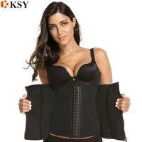 Best breathable body shaper waist trainer corset for women