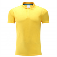 Customized Polo T-Shirt Men Polo T Shirt With Single Button Polo Shirts Customize Logo