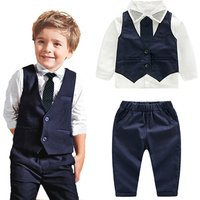 Baby Boy Clothing Suit Kid Summer Wear 2 Pcs Cotton T Shirt And Pant For Children Wear 2019 New Style
