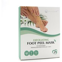 Private Label MOQ 100 Exfoliation Foot Peel Mask