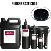 OEM ODM Raw Material 1 kg UV Gel Nail Polish Rubber Base No Wipe Super Shine Gel Top Coat