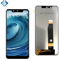 Mobile Display for Nokia X5 LCD Screen with Touch Panel Digitizer Assembly for Nokia 5.1 Plus LCD