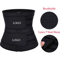 Low Factory Price Plus Size Breathable Body Shaper Latex Waist Trainer Corset Shapewear
