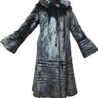 2019 Classic Whole Skin Long Black Women Apparel Real Mink Fur coat