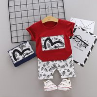Baby clothing wholesale 2pieces baby clothing set organic cotton baby clothing