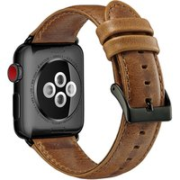 luxury genuine leather watch wristband for apple watch,for apple watch wrist band leather 38mm 42mm 40mm 44mm