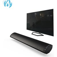 Best Wall Mount Tabletop 3D Surround 2.0CH 20W Speaker New Wireless Portable RCA Optical TV Soundbar with Remote Control