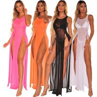 summer beach dresses women  knitted cover up beachwear