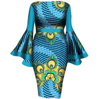A6125 African Spring Autumn Skirt Set for Women Dashiki Traditional Blouse Top and Skirt Sets african wax fabric Plus Size 6XL