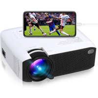 2019 Hot Selling LED Projector E400S, Cell phone Projector support mobile phones wireless/wired mirroring 1080P Full HD