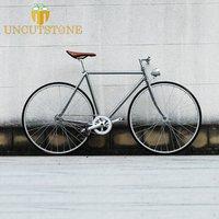 retro fixie bike 20mm rim TRACK BIKE  56cm  52cm single speed fixed gear bike  vintage steel Customize frame  OEM Bicycle