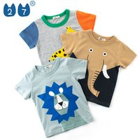 Urban Character Children Trendy Boys Summer Clothing Wholesale T Shirts