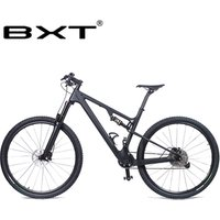 New Mountain Bike Frame 29er Carbon Fiber MTB Bicycle Suspension Complete Bike 1*11 Speed Free Delivery