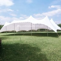 high quality outdoor  PVC coating Stretch tent for wedding/parting/events