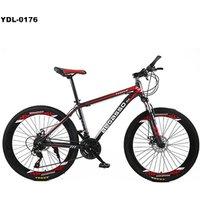 26 inch 21 speed Aluminum Alloy Frame brake disc mountain bike MTB bicycle