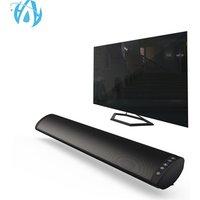 Best FM Radio Wall Mount Portable Wireless Bluetooth Soundbar 20W Speaker Bass Stereo Sound Bar for TV with Remote Control