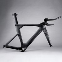 hong fu Avenger  tt bike frame China T800  cheap road carbon  fiber time trial bicycle  frames  fm109 with TRP brake