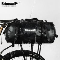 Rhinowalk waterproof bike saddle bag bicycle rear rack bike travel commute duffel bag