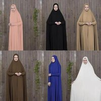 New Model Pakistan Abaya In Dubai Wholesale Open Muslim Kaftan Abaya Dress With Hijab For Woman 2019