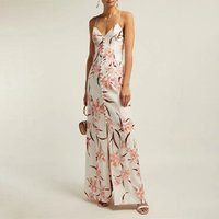 2019Latest ladies sexy V neck backless vintage slip dress women fashion buttons full open summer dresses daily wear casual dress