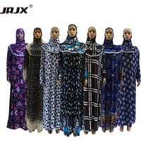 2019 New Style Women Kaftan Muslim abaya Maxi Dress prayer clothing Islam hijab abaya