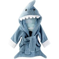 wholesale animal cotton kids bath robe