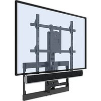 50 Inch Flat Screen Wall Mount Mantel TV Bracket Up And Down TV Mount For Home
