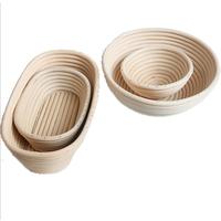 Amazon Round coiled Artisan Rattan Banneton brotform Bread Proofing Basket