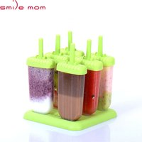 'Smile Mom Professional Ppopsicle Maker Silicone Ice Cream Mold