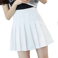 Hot Selling Women Girls School Style Pants Inside A-line Mini Pleated Skirt