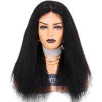 Premier Factory Fast Shipping Kinky Straight Brazilian Virgin Human Hair Full Lace Wig