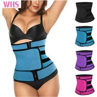 'Wholesale Fitness Adjustable Straps Weight Loss Trainer Latex Shapewear Top Lumbar Slimming Waist Trainer Corset Shapers