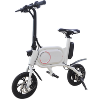12 inch 300W New adults cheap lithium electric scooters and electric bike 2 wheel e bike