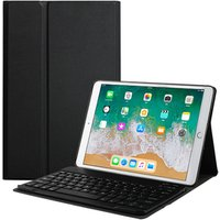 'For New Ipad 9.7 2018 Case With Keyboard, Built-in Wireless Bluetooth Keyboard Slim Shell Magnetic Cover Sleep/wake