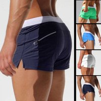 'Men Swimwear Trunks Boxer Briefs Mens Swimming Shorts Gay Mens Swimwear Swim Suits
