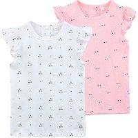 Summer Cotton Children Clothes Lovely Baby Tops Flutter Short Sleeve Kids Girls T Shirt