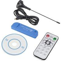 USB 2.0 Digital DVB-T SDR+DAB+FM HDTV TV Tuner Receiver Stick RTL2832U+R820T2