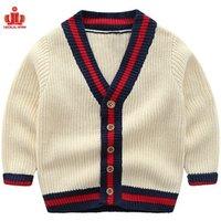 high quality custom long sleeve baby boy Cardigan boys stylish sweaters boys sweater design