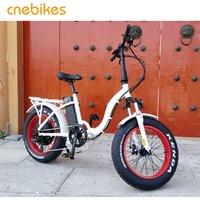 20 inch 36V fat tyre folding electric bicycle/bike,ebike